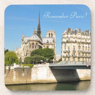 Notre Dame, Paris Drink Coasters