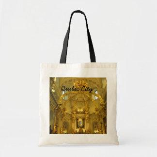 Notre Dame Quebec City Canada Tote Bag