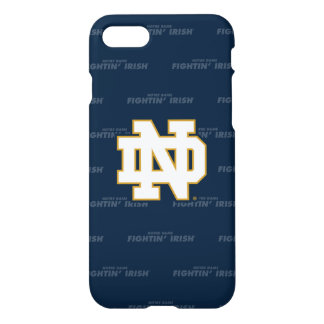 Notre Dame | Repeating Pattern iPhone 8/7 Case