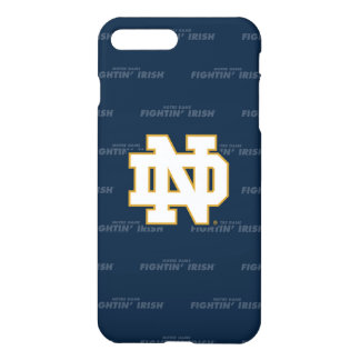 Notre Dame | Repeating Pattern iPhone 8 Plus/7 Plus Case