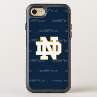 Notre Dame | Repeating Pattern OtterBox Symmetry iPhone 8/7 Case