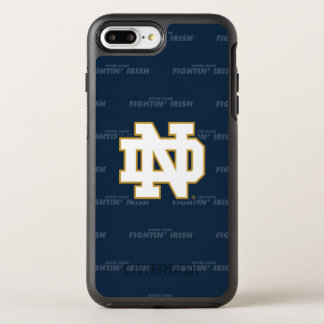 Notre Dame | Repeating Pattern OtterBox Symmetry iPhone 8 Plus/7 Plus Case