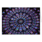 Notre Dame Rose Window Card