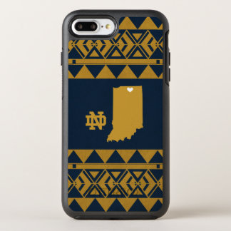 Notre Dame | Tribal State Love OtterBox Symmetry iPhone 8 Plus/7 Plus Case