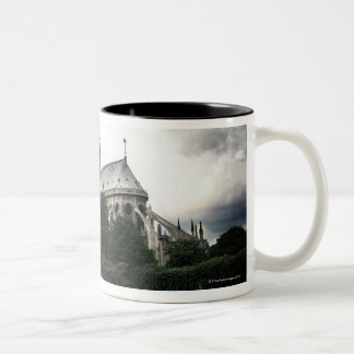 Notre Dame Two-Tone Coffee Mug