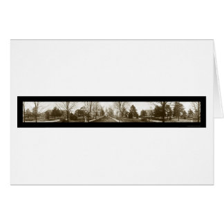 Notre Dame University Photo 1914 Card