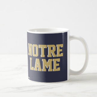NOTRE LAME COFFEE MUG