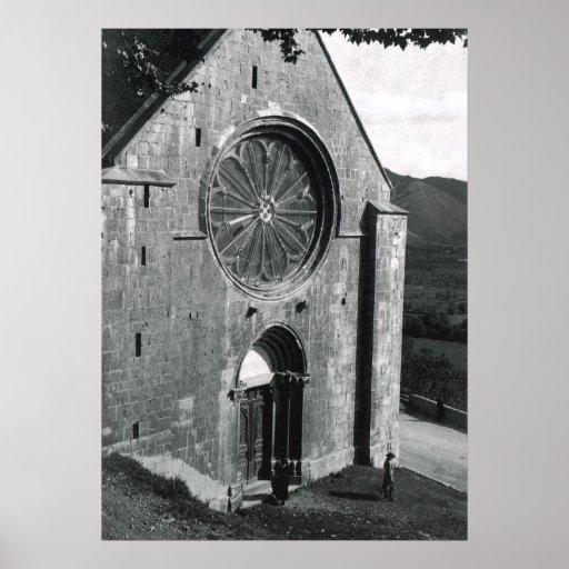 Notres Dame des Alpes, Seynes les Alpes, France Print