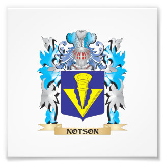 Notson Coat of Arms - Family Crest Photo Print