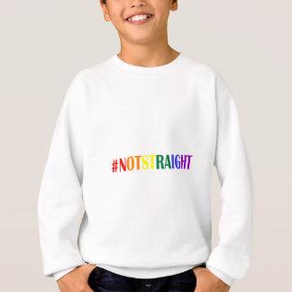 #NotStraight Rainbow Sweatshirt
