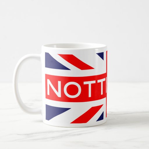 Nottingham : British Flag Mug