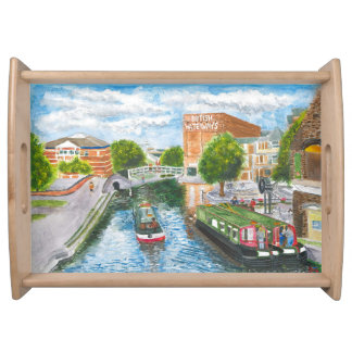 Nottingham Canal from Carrington Street Serving Tray