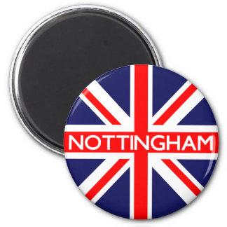 Nottingham UK Flag Magnet