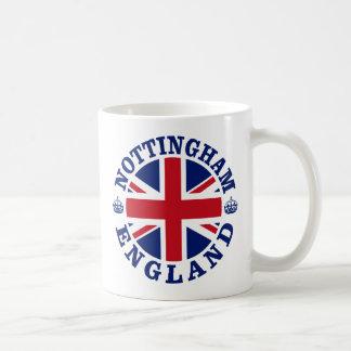 Nottingham Vintage UK Design Basic White Mug