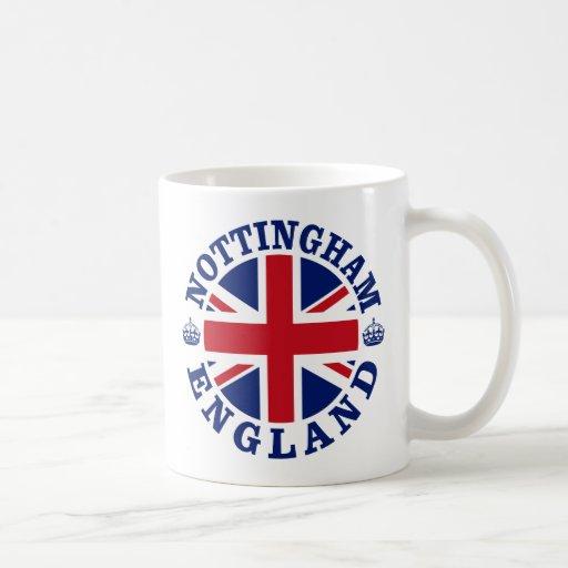 Nottingham Vintage UK Design Mug