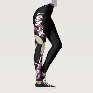 Nougat Unicycle Juggling Leggings
