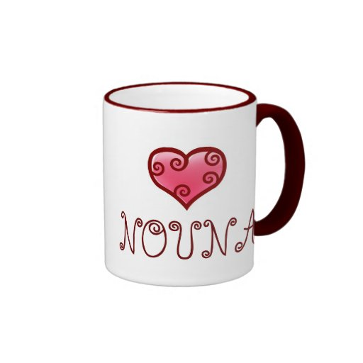 NOUNA mug! Ringer Mug