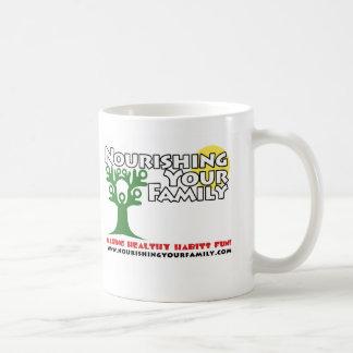 Nourishing Your Family logo Mug
