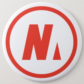 Nousmotards swipes in 6 cm round badge