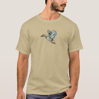 Nouveau Art Mallard Duck T-Shirt