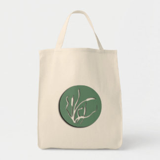 Nouveau Cat-Tail Reed Organic Grocery Tote Grocery Tote Bag