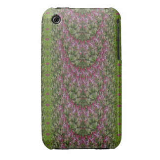Nouveau Floral Abstract iPhone3 Case Mate iPhone 3 Case-Mate Cases