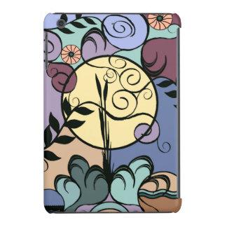 Nouveau Garden Moon Abstract iPad Case