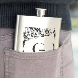 Nouveau Monogram Hip Flask