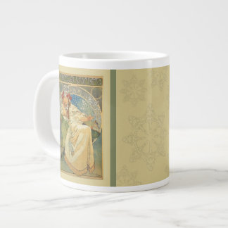 Nouveau Mucha Princess Hyacinth Mug Jumbo Mug