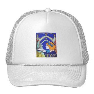 Nouveau Vintage Advertising Oracions Trucker Hats
