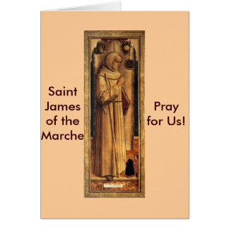 Nov 28 St. James of the Marche Card