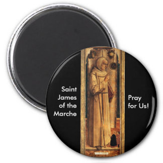 Nov 28 St. James of the Marche Refrigerator Magnets