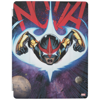Nova Flying At Top Speed iPad Cover