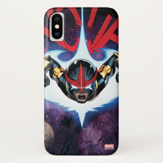 Nova Flying At Top Speed iPhone X Case