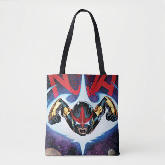 Nova Flying At Top Speed Tote Bag
