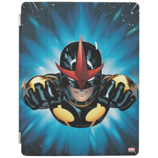 Nova Flying Through space iPad Cover