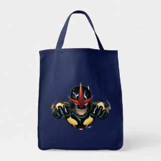 Nova Flying Through space Tote Bag