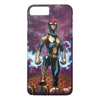 Nova Over Fallen Nova Corps Helmets iPhone 8 Plus/7 Plus Case