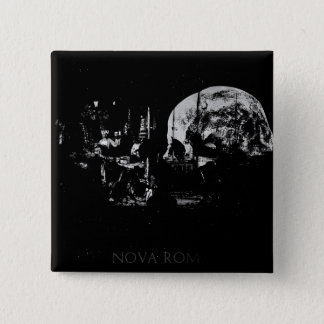 Nova Roma 15 Cm Square Badge