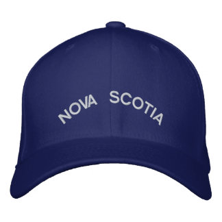 Nova Scotia Baseball Cap Embroidered Canada Cap