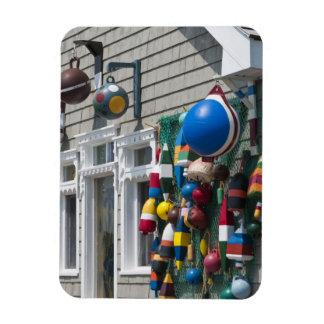 Nova Scotia, Canada. Buoy shop in  Blue Rocks in Rectangular Photo Magnet
