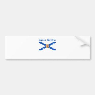 Nova_Scotia Canada coat of arms design Bumper Sticker