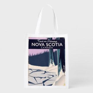 Nova Scotia, Canada holiday travel poster.