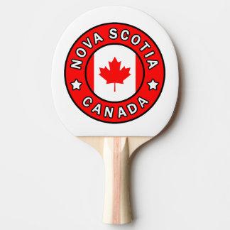 Nova Scotia Canada Ping Pong Paddle