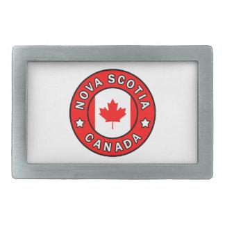 Nova Scotia Canada Rectangular Belt Buckle