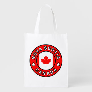 Nova Scotia Canada Reusable Grocery Bag