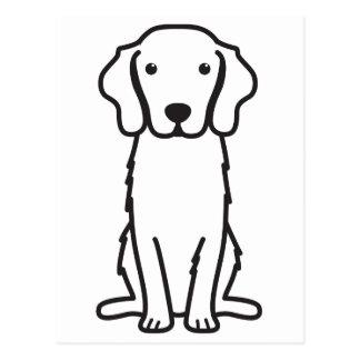 Nova Scotia Duck Tolling Retriever Dog Cartoon Postcard
