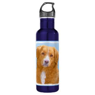 Nova Scotia Duck Tolling Retriever Dog Painting 710 Ml Water Bottle