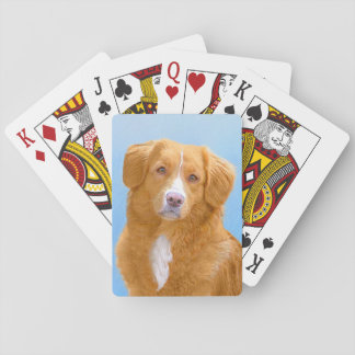 Nova Scotia Duck Tolling Retriever Playing Cards