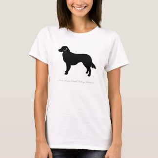 Nova Scotia Duck Tolling Retriever T-shirt (black)